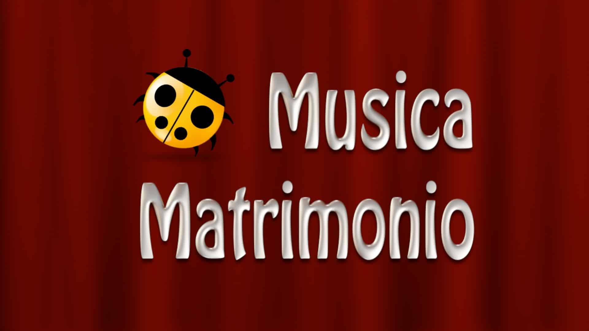 Musica Matrimonio Logo Sipario