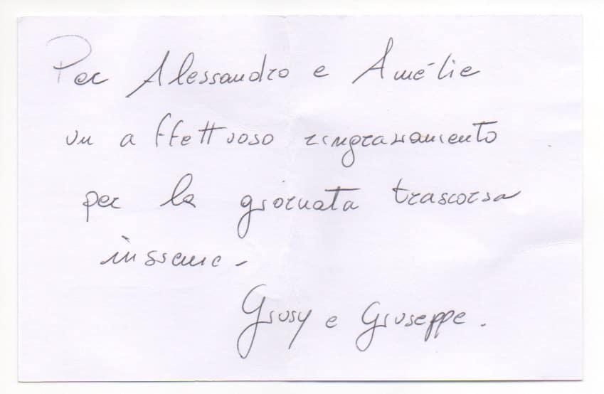 MM - Biglietto Giusy Piredda